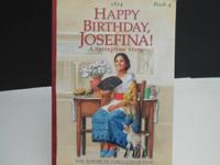 Pleased Birthday Josefina is book 4, A Springime Story
