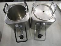Here we two American Steel Ware CS-1 containers. Both