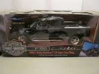 American Muscle 1:18 Scale Ford F150 Harley Davidson