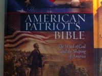 Here is the American Patriot bible and its the King