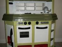 American Plastic Toys Custom Kitchen Play Set.....LIKE