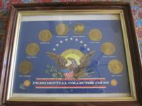 AMERICAN PRESIDENT COMMEMORATIVE COIN SET COLLECTION by
