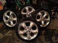 "4 used 16"" steel wheels from American Racing. nice, a"