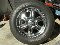 For sale American Racing Rims with Michelin tires