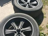 "I have for sale a set of 20"" American Racing wheels."