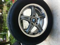 American Racing Rims in great condition with Michelin