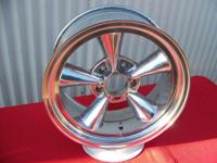 AMERICAN RACING WHEEL POLISHED 5 SPOKE 17 X 8 NICE