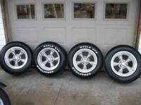 almost new 17 inch American Racing Wheels , Fit