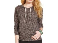 American Rag's sporty hoodie gets a girly makeover