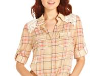 American Rag's plaid top strikes the right style chord