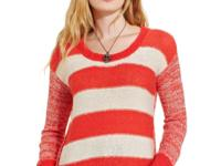 American Rag's striped and marled-knit sweater is a