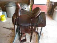 I have a nice 15 inch all around saddle for sale, the