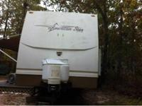 American star travel trailer  2003 AS TT 33 BLFB W/1