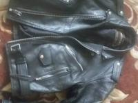 Got an awsome American top genuine leather bomber