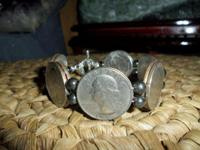 American Washington Quarters Coins Bracelet are from