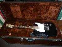 Made in USA Fender Telecaster Special , Black satan