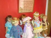 I have numerous outfits all hand sewn for American Girl