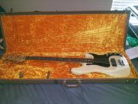I have an American P Bass Deluxe with OHSC for your