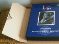 A  MINT 1994 Amerivox JFK phone card set. New unused