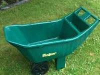 FOR SALE: Ames Easy Roller Plus Lawn Cart in like