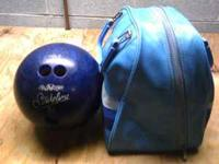 I have a nice AMF Strikeline bowling ball and case in
