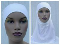 2 piece cotton amira hijab is very easy to wear. No