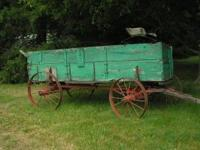 STEEL WHEELS, GOOD CONDITION. USED IN AMISH COUNTRY.
