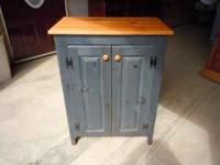 AMISH BUILT CABINET IN VERY NICE SHAPE  ANY TIME