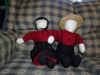 Hello, I make Amish dolls using a 1913 treadle and some