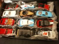 ?Amoco Racing Street Wheels Champions 12 Car Set Case