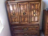 Armoire and Dresser are both in very good condition and