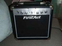 great starter amp for guitar call  $25 Location: