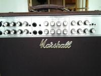 Marshall (acoustic soloist AS80R) STEREO AMP, 2x10