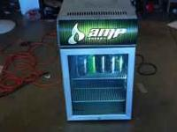 Nice amp refrigerator for sale or trade for hunting