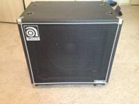 Ampeg SVT-15E Bass Speaker Cabinet Great cab with