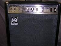 Posted is an Ampeg B-100 bass amp.  Unit is in very