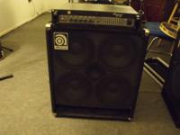For sale.. Ampeg B2RE 450 Watt Bass Guitar Head.. And