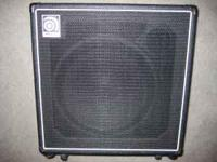 Ampeg BA115HP Bass Amplifier in excellent condition. No