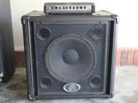 Ampeg PR 15 Bass cabinet. These cabs are not made any