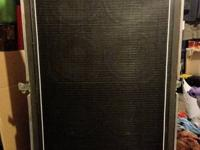 For sale is an Ampeg SVT 8x10E bass speaker cabinet