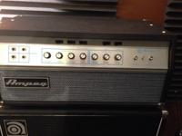 For Sale!! I am selling my Ampeg SVT-VR 300-Watt