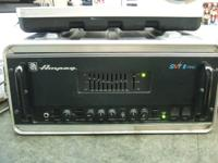 Ampeg SVT2 PRO Bass Amp with case. New JJ tubes Biased