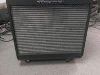 AMPEG PF500 AND PF115HE BASS RIG. Like brand-new 5 or 6