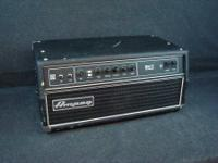 Ampeg SVT Classic Tube Bass Amplifier 300W Bass Amp