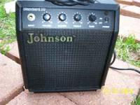 small amplifier for sale, was x husbands......take it