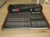 Up for sale is a vintage Sunn eight channel mixer,