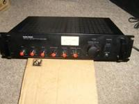 Radio Shack MPA 101 100 Watt P.A. Amplifier Features: