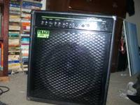 BARELY USED AMP. GREAT DEAL- LOOK UP WHAT IT'S GOING