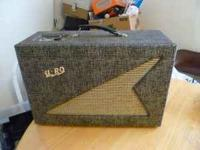 1950's Reverberator Amp - $100 Dave  Location: Lawton
