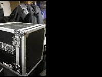 Im selling my amp rack RoadCase with 2QSC amps,